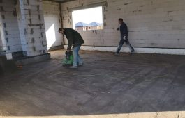 Grindų paruošimas betonavimui