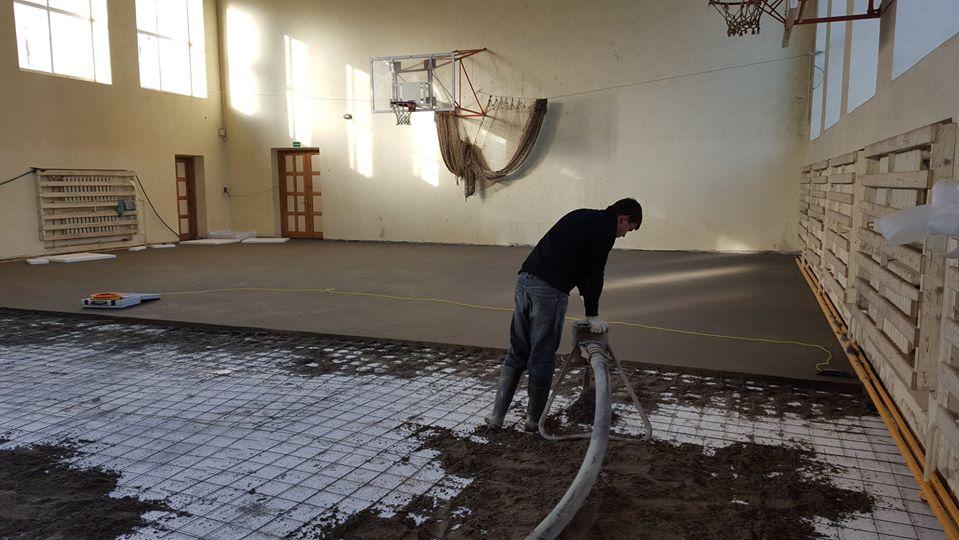 kokybiškas grindu betonavimas