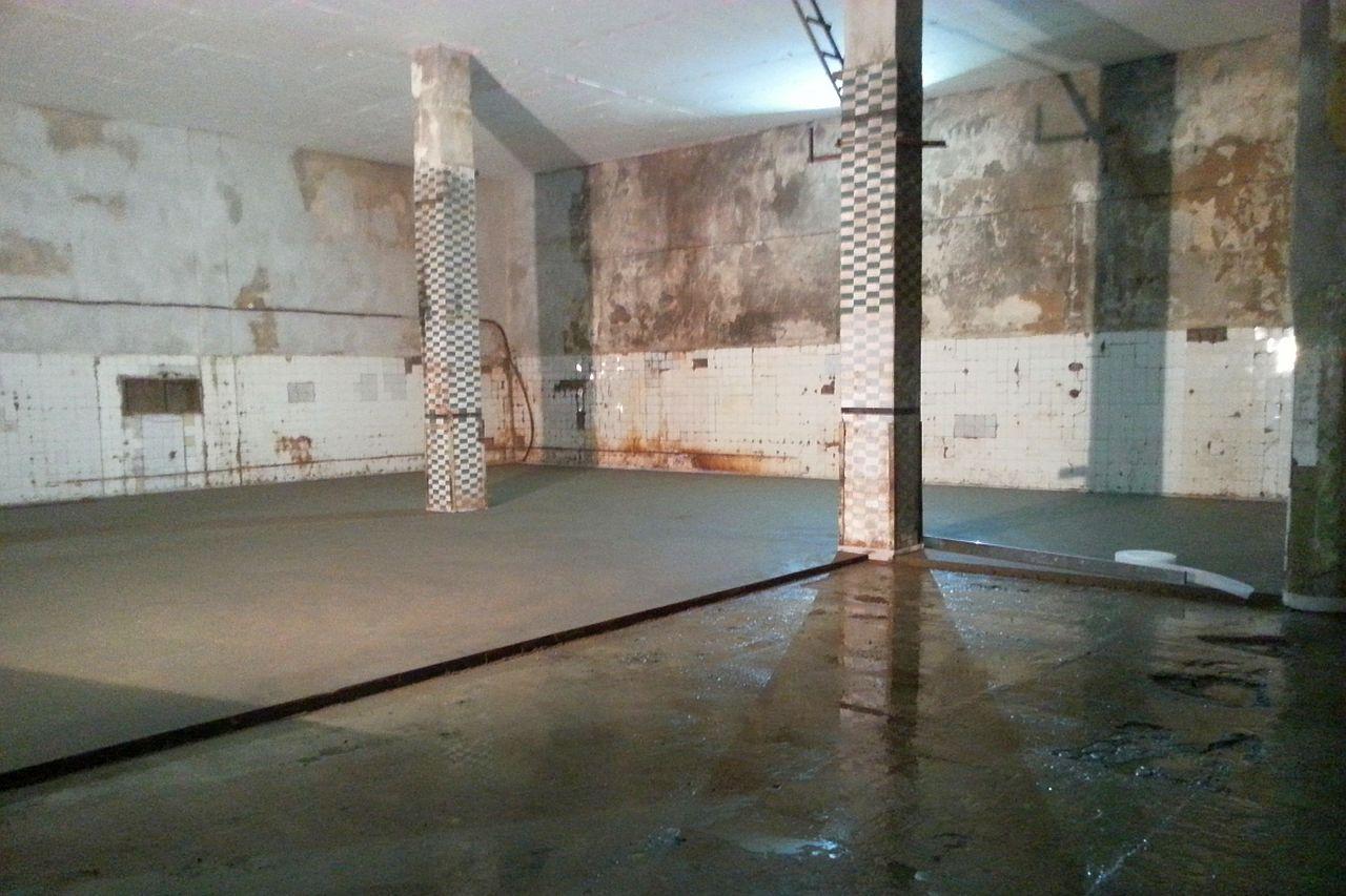 Pramoniniu patalpų betonavimas